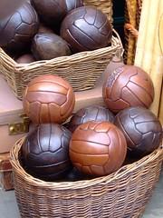 Leather Balls at Portobello Market (ChicagoSage) Tags: stilllife london leather portobellomarket howwearenow
