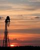 July 3 Sunset - explore (Marvin Bredel) Tags: sunset sky sun oklahoma windmill clouds explore interestingness162 i500 marvin908 marvinbredel