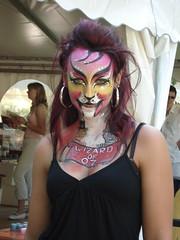 Oz Tiger (Robert_Eric) Tags: facepainting freiburg festivalderfarben schminktopf