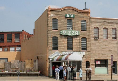 AV Italian Restaurant, A WDC landmark closes it's doors
