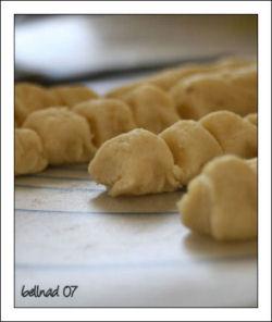 in the making of dumpling