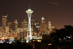 Seattle Space needle skyline