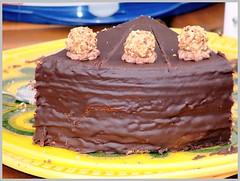 Stillleben -  Der Kuchen der Nachbarin