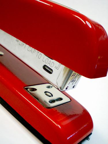 office space stapler. The Red Stapler from quot;Office