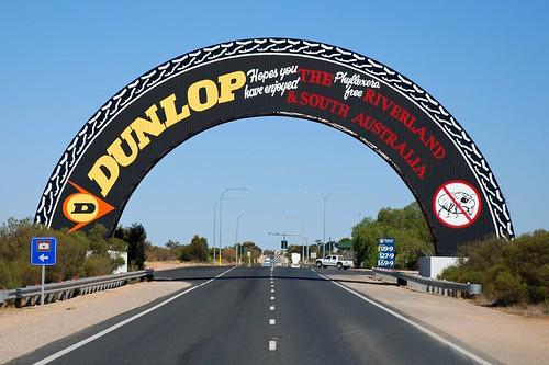 Big Dunlop Tyre