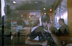 First Double Exposure Ever (jasmeet) Tags: chicago film 35mm shangrila lakemichigan olympusom2 jasmeet rohnertpark nikkormatft3 luckyfilm ifeellucky luckyfilmproject luckyproject