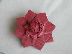 Flower Tower - Var-1 (soma0213) Tags: origami tesselation chrispalmer flowertower