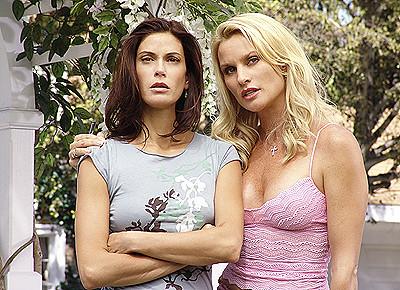 Teri Hatcher and Nicollette Sheridan