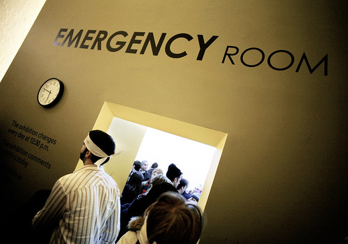 83 ) Emergency Room PS1 / MOMA by you.