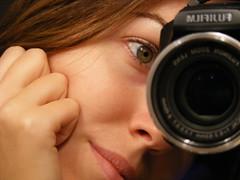 Fujiwomen (Livia - Roxana) Tags: camera selfportrait mirror blog fujifilmfinepix theperfectphotographer