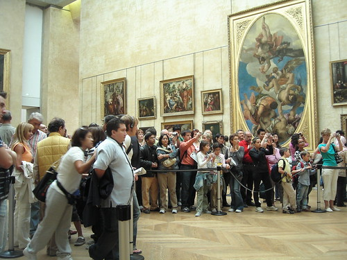 Gawking at the <I>Mona Lisa</I>