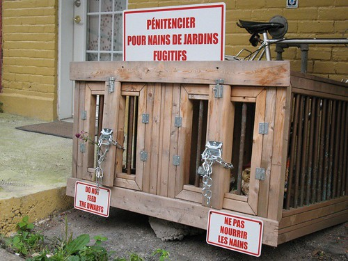 Pénitencier pour nains de jardins