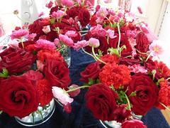 04-arrangements.jpg (saraicat) Tags: flowers wedding roses diy crafts ranunculus arrangements carnations