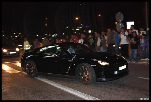 2010 Nissan Gtr Black Edition. Nissan GTR Black edition