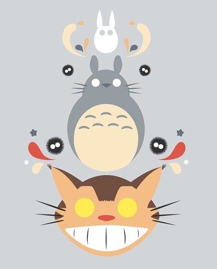 My Neighbor Totoro Print