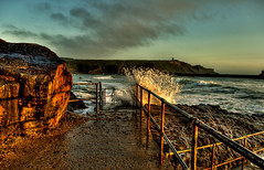 Bude Surf HDR (grotography) Tags: nikon cornwall surf seascapes d2x hdr bude