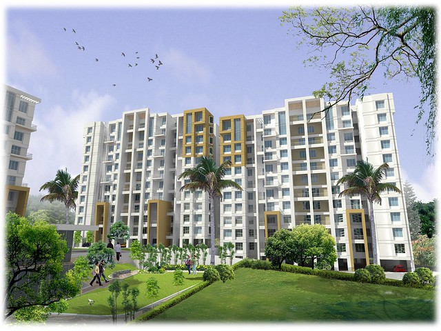Nirman Viva Phase 2, 1 BHK & 2 BHK Flats at Ambegaon Budruk, Katraj, Pune 411 046 - Club House and E1 & E2 Buildings