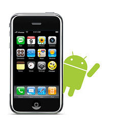 Iphone con sistema operativo Android