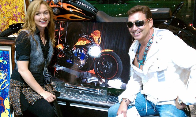 Jack Armstrong, Cosmic Artist, Bartels Harley Davidson Marina Del Rey
