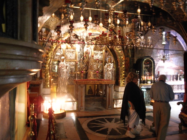 Calvary, Church of the Holy Sepulchre