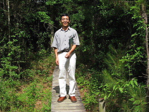 Dr. Gan receives Texas Forestry Association Research, Development, and Innovation Award