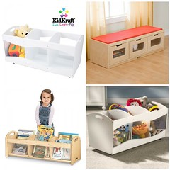 See-Thru Storage (Heath & the B.L.T. boys) Tags: bench toys kidsroom organize playroom casters