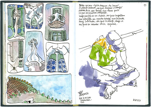 Barcelona, 29th SketchCrawl #2