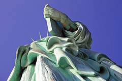 Statue of Liberty (emz_m) Tags: new york city nyc sculpture ny monument statue museum lady liberty island freedom symbol manhattan united landmark structure torch national american states tabula statueofliberty lower tablet iconic immigration colossal neoclassical ansata