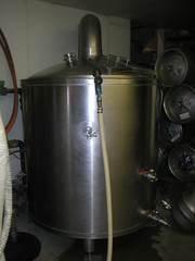 Magnolia's Brewpub Fermentation Tank in Basement