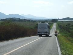 Quiet road in Chiapas mountains