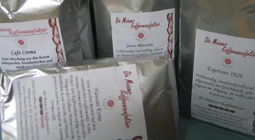Kaffee-Kauf-Rausch: Mainzer Kaffeemanufaktur