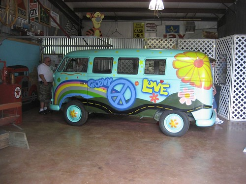 """""""Fillmore"""" Microbus from the movie cars"""