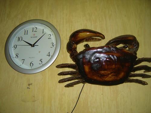 seven past crab