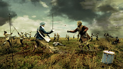 A Mad World, My Masters (Matt West) Tags: history field soldier fight gun drum smoke battle sword pike reenactment skirmish englishcivilwar supershot views800 views1000 thesealedknot sirgervaselucascompanythebelvoircormorants