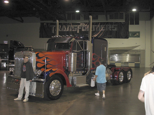 Botcon - Day 3 - The Prime truck