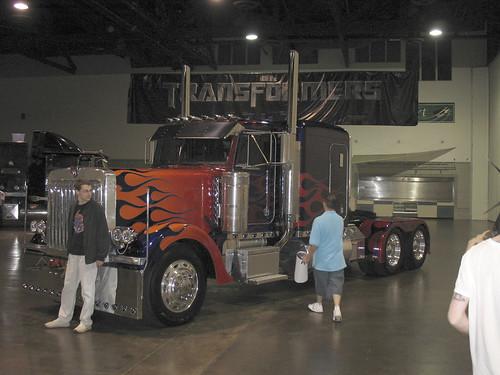 Botcon - Day 3 - The Prime truck