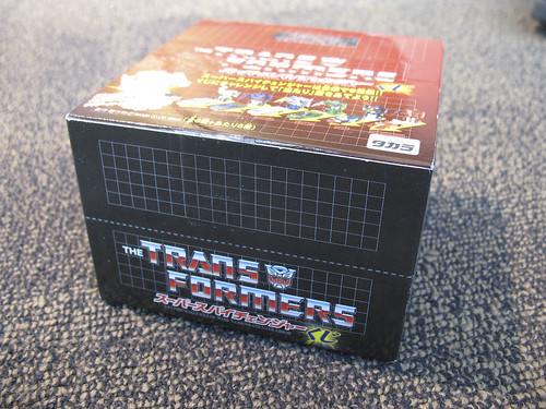 Botcon - airport aftermath - This box holds the potential to have the last chase figure I need.