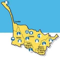 soltroia mapa Tróia Resort Portugal: Mapa Troia / Carvalhal soltroia mapa