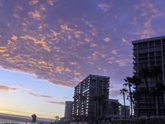 View to the top (Miss Martini (AnnaLynn M.)) Tags: sunset sky coronadoshores