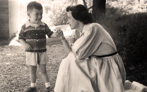 Me and Mom - 1957