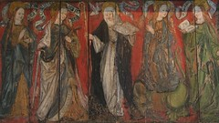 Arbroath Abbey: women saints