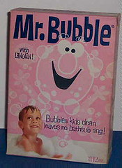Vintage Mr. Bubble Bubble Bath (twitchery) Tags: vintage soap bath bubbles 70s vintageads vintagebeauty