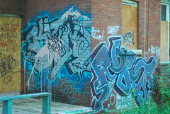 Another Abandoned House (alej_v) Tags: house toronto abandonedhouse graffitti bloor west end