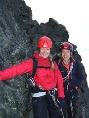 Up on Fruehstucksplatterl (Johan Lindgren) Tags: hanna climbing grossglockner