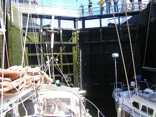 Inside the Ballard locks