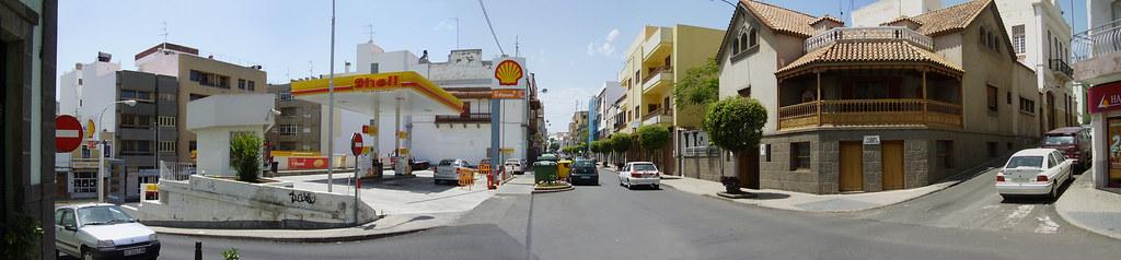 Arucas, calle Alcalde Suarez Franchy