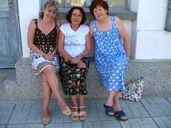 our landlady outside (miss biliana) Tags: bulgaria blacksea ahtopol
