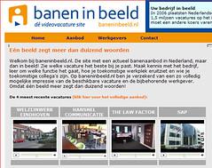 Video-vacatures en video-CV's bij Baneninbeeld.nl