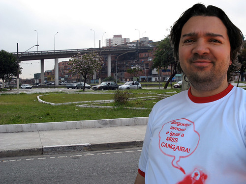Eu, minha camiseta e Cangaiba!