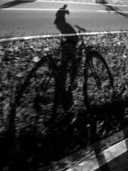 (giancarvedsse) Tags: ombra bici pistaciclabile bwemotions bnpersone excellentphotographerawards